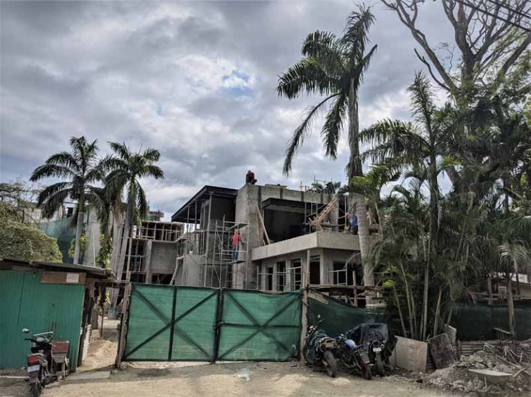 Concrete and steel construction. Nosara Costa Rica. Integrity Building Contractors 2021.